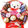 Rakhi Gifts to India, Assorted Chocolate Basket