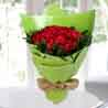 75 Beautiful Red Roses Bunch